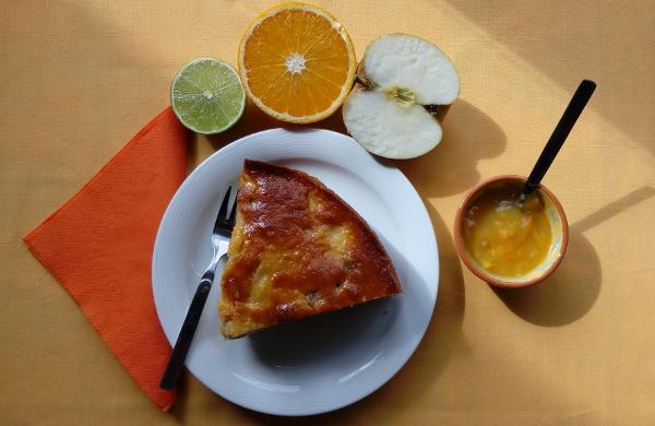 Bollo de Manzana con ron - Kubanischer Apfelkuchen mit Rum