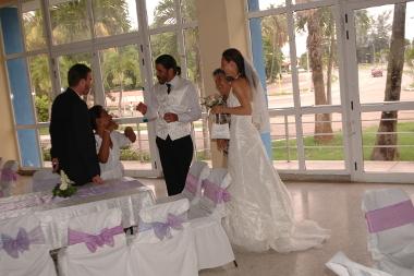 Hochzeitsfeier, Havanna, Kuba