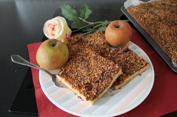 Svensk Äppelpaj - Apfelkuchen aus Schweden