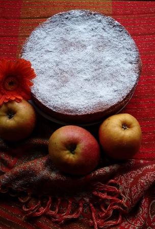 Mexikanischer Apfelkuchen mit Mandeln und Haferflocken
