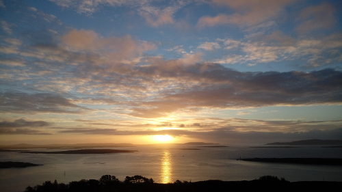 Sonnenaufgang, Sailors Hill, Schull, SW Irland