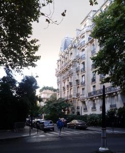 Avenue Bosquet in Paris