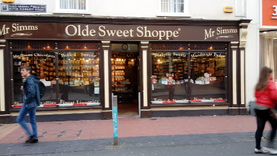 "Cork City ""Old Sweet Shoppe"""