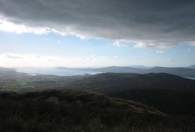 Aussicht vom Mount Gabriel, Schull, Irland