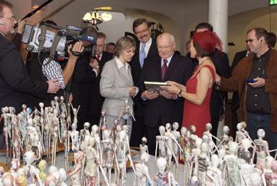 Global Citizen ART Project - Ausstellungseröffnung Michael Gorbatschow