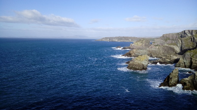 Mizen Head, Blick auf den Atlantik, Irland