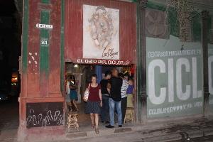 """Galerie """"El Ojo del Ciclón"""", Havanna, Kuba"""