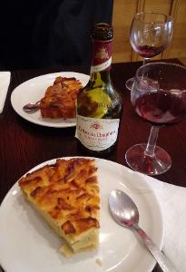 Tarte aux Pomme; gegessen in Paris