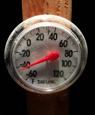 Yukon Quest - Termometer
