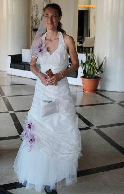 Braut im H10 Miramar, Playa, Havanna, Kuba