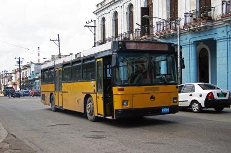 Linienbus in Havanna, Kuba