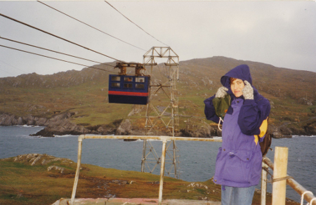 Cable Car, Dursey Island, Irland