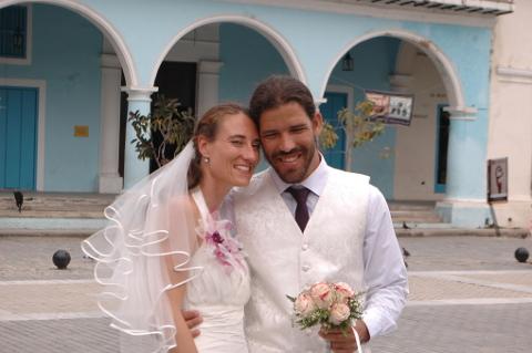 Hochzeit in Havanna, Kuba