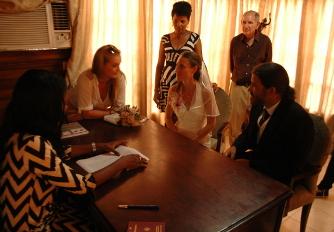 Hochzeit im Standesamt in Havanna Playa, Kuba