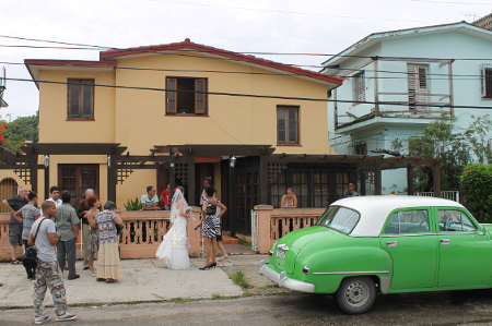 Standesamt in Havanna Playa, Kuba