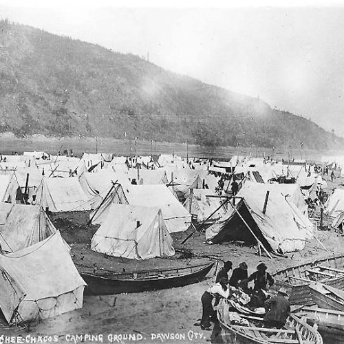 Chee Chacos Camping Ground, Dawson 1898