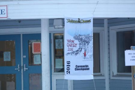 Checkpoint Carmacks Yukon Quest