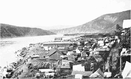 Dawson und Klondike City, 1898