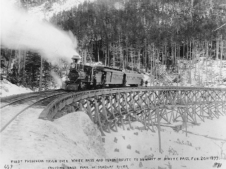 """White Pass & Yukon Railroad"""