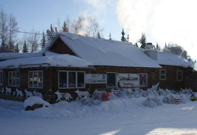 Checkpoint Central, Yukon Quest