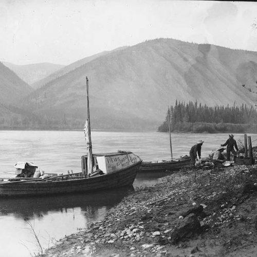 Goldwäscher am Yukon