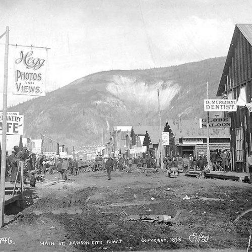Mainstreet Dawson City, 1898