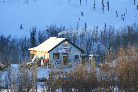 Mile 101 Yukon Quest Checkpoint