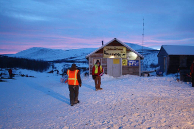 Mile 101 - Checkpoint Yukon Quest