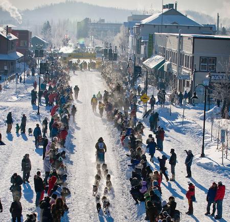 Yukon Quest, Whitehorse