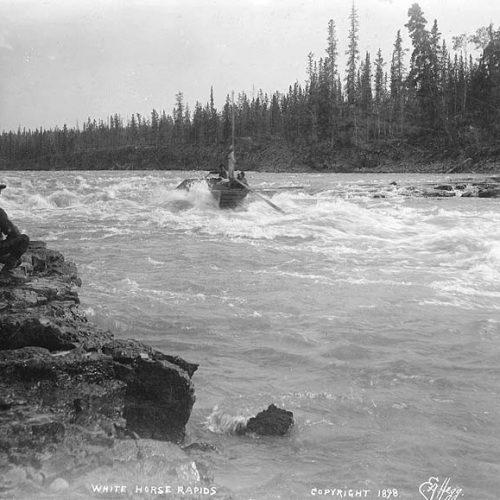 White Horse Rapids, 1898