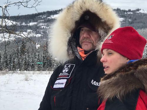 Allen Moore mit seiner Tochter Brigitt