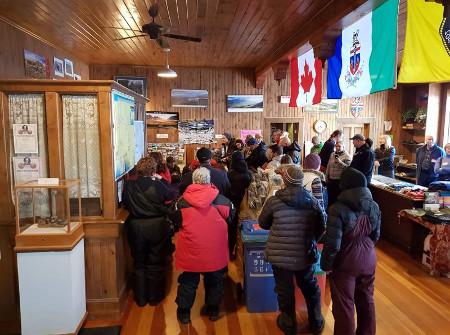 Musher Meeting Dawson City