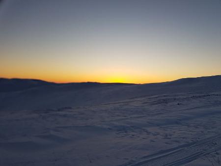 Sonnenaufgang am Eagle Summit