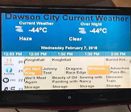 Wetterbericht - Dawson