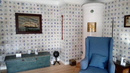 Friesische Wohnstube mit Kachelofen