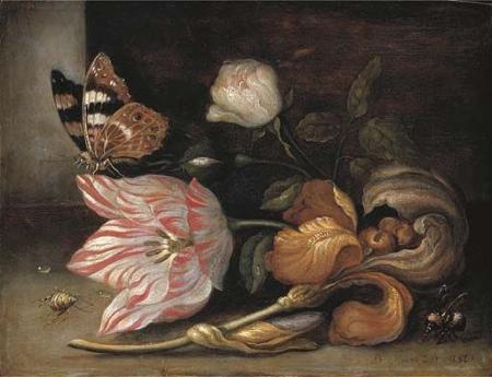 Tulpengemälde von Balthasar van der Ast