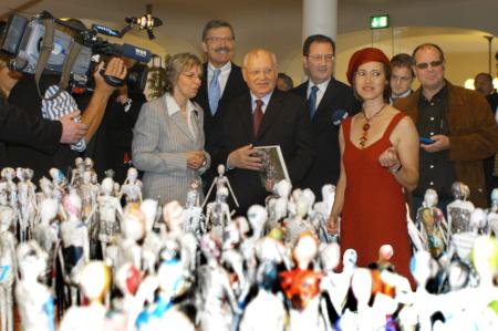 Ausstellung mit Michael Gorbatschow