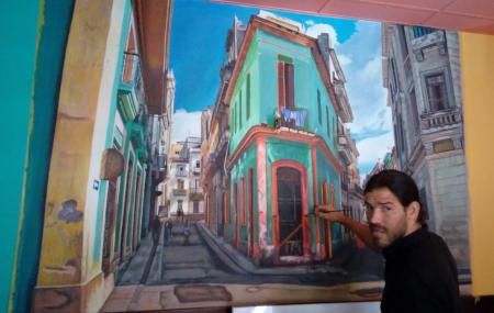 La Cosita - Leipzig - Wandgemälde Enrique Guisado Triay