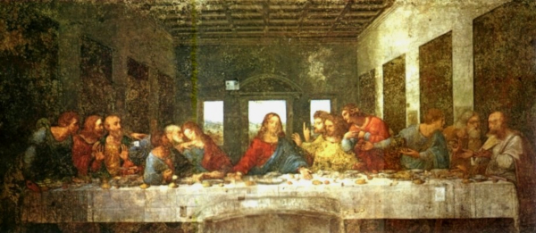 Abendmahl - Leonardo Da Vinci - 1495-1497