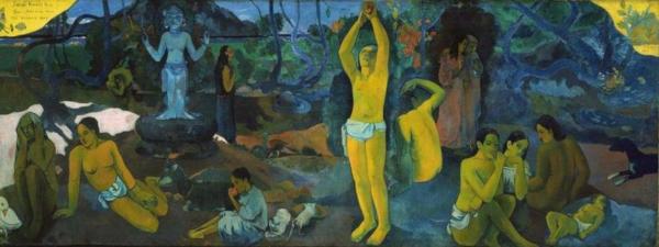 D'où venons-nous? Que sommes-nous? Où allons-nous? - Paul Gauguin - 1897/98