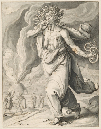Invidia - Neid (1596-1597) / Jacques de Gheyn