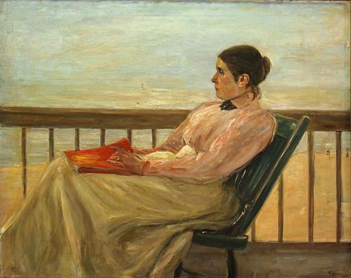 """"""" Martha Liebermann"""" - Max Liebermann - 1898"""