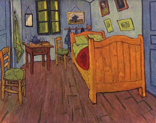 Schlafzimmer in Arles - Vincent van Gogh - 1897