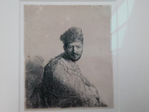 Lithografie Rembrandt - Museumsinsel Hombroich