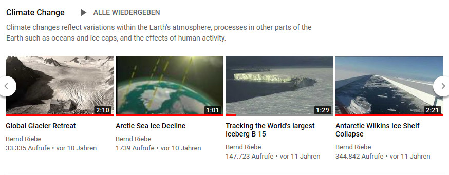Climate Change Videos