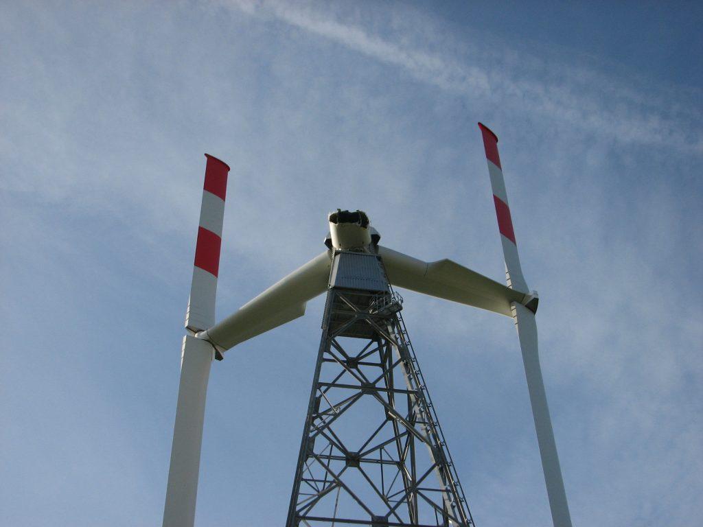 Windturbine Fracture