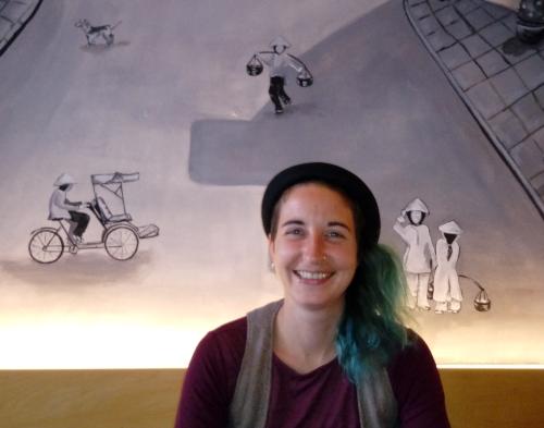 Anika Gerlach - Bühnenmalerin un bildende Künstlerin