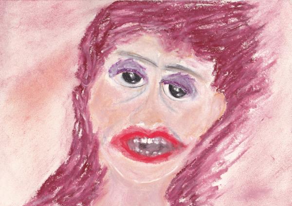 hysterie - hysterische Frau