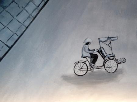 Xiclo - Detail aus dem Wandgemälde von Anika Gerlach