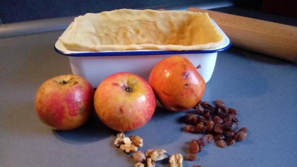 Apfel-Schalet
